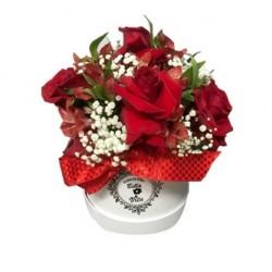FLOWERS BOX DE ROSAS