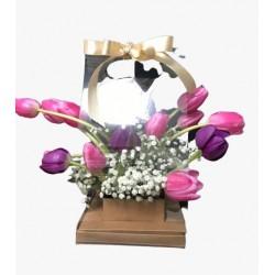 FLOWER BAG TULIPAS